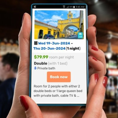 Mobile responsive online booking system for hotels